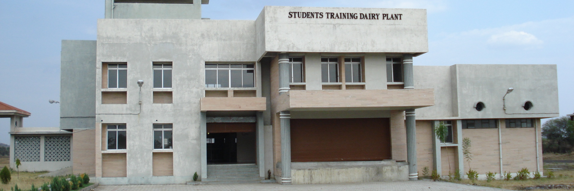Students training Dairy Plant